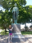 Met Maggie's favorite President in his youth #landoflincoln